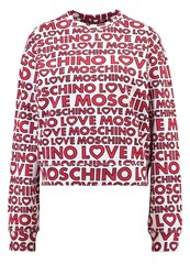 Love Moschino Sweatshirt Bianco White