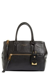 Marc Jacobs Recruit East West Pebbled Leather Tote Black