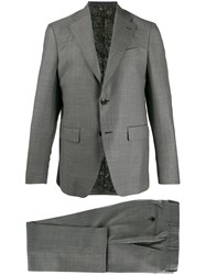 Etro Fitted Two Piece Suit 60