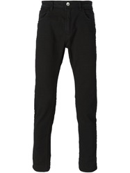 Poeme Bohemien Five Pocket Design Jeans Black