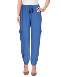 Silvian Heach Trousers Casual Trousers Women Azure