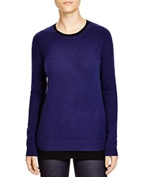 C By Bloomingdale's Colorblock Sweater