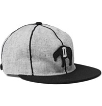 Ebbets Field Flannels 1935 Detroit Cubs Appliqued Wool Baseball Cap Gray