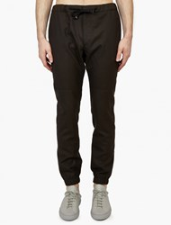 Marc Jacobs Grey Wool Tailored Track Pants