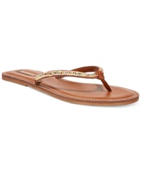 Roxy Lima Beaded Flat Thong Sandals Women's Shoes