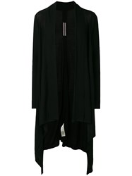 Rick Owens Long Cardigan Black