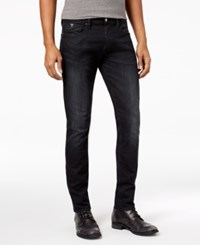 Guess Men's Skinny Fit Stretch Jeans Liberty Black Wash