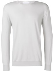 Cruciani Round Neck Jumper White