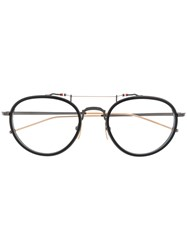 Thom Browne Eyewear Pantos Glasses 60