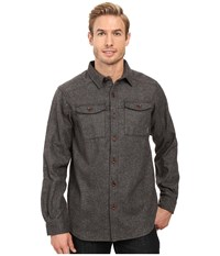 Columbia Sage Butte Long Sleeve Shirt Shark Men's Long Sleeve Button Up Gray