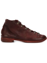 Guidi Hiking Boots Red