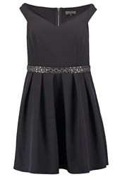 Dorothy Perkins Curve Victoria Cocktail Dress Party Dress Black