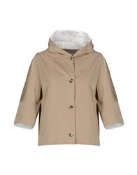 Cappellini By Peserico Jackets Light Brown