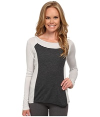 Lucy Push The Tempo Long Sleeve Dove Grey Women's Long Sleeve Pullover Gray
