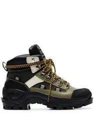 Ganni Bruna 35 Hiking Boots Brown