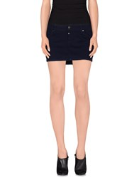 Paul Frank Skirts Mini Skirts Women Dark Blue