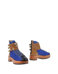 Y 3 Footwear Ankle Boots Women Bright Blue