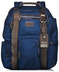 Tumi Alpha Bravo Kingsville Deluxe Brief Backpack Baltic
