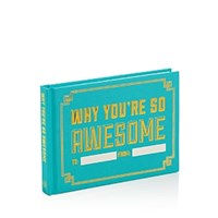 Knock Knock Why You're So Awesome Fill In The Love Gift Box Blue