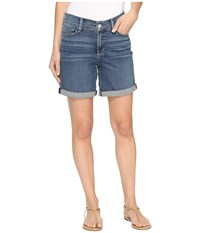 Nydj Avery Shorts In Heyburn Wash Heyburn Wash Women's Shorts Blue