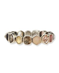 Carved Mother Of Pearl And Champagne Bracelet Stephen Dweck