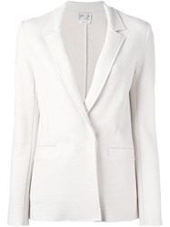 Forte Forte One Button Blazer Nude Neutrals