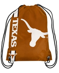 Forever Collectibles Texas Longhorns Big Logo Drawstring Bag Orange
