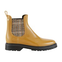 Lemon Jelly Parker Ankle Boots Rusted Gold Tweed