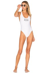 Milly Beach Please One Piece White