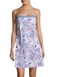 Lord And Taylor Lace Accented Sleep Chemise