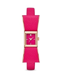 Kate Spade New York Leather Kenmare Watch 16Mm X 16Mm Pink