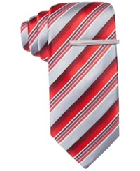 Alfani Spectrum Harvey Stripe Slim Tie Only At Macy's