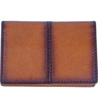 Dents Casual Leather Card Holder Tan