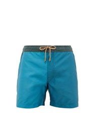 Thorsun Colour Block Swimming Shorts Blue Multi
