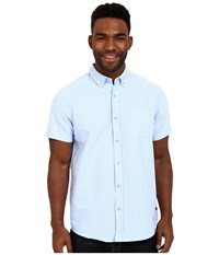 Tavik Uncle Short Sleeve Woven Light Blue Men's Short Sleeve Button Up