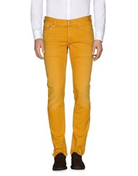 Care Label Jeans Ocher