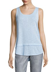 Lord And Taylor Morning Sky Tank Orange