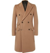 Marc Jacobs Double Breasted Camel Coat Sand
