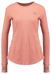 Converse Thermal Long Sleeved Top Pink Blush Rose