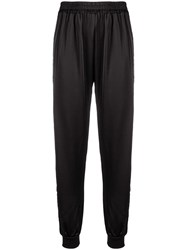 Philipp Plein Elasticated Waist Track Pants Black