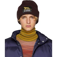 Tiger Of Sweden Burgundy Huntt Knit Beanie