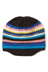 Missoni Wool Striped Knit Beanie Multicolor