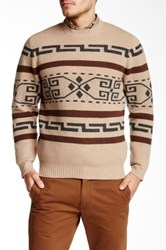 Pendleton Westerly Crew Neck Sweater Beige
