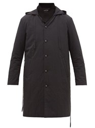 Craig Green Layered Panelled Twill Parka Black