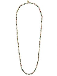Forte Forte Frayed Beaded Necklace