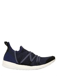 Adidas By Stella Mccartney Pure Boost X Nylon Mesh Running Sneakers