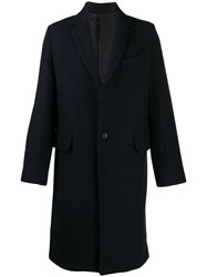 Zadig And Voltaire Music Manteau Coat Blue
