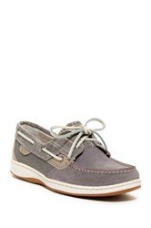 Sperry Bluefish Sparkle Boat Shoe Gray