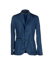 Allegri Suits And Jackets Blazers Men Dark Blue