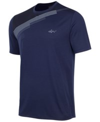 Greg Norman For Tasso Elba Men's Diagonal Block T Shirt Only At Macy's Night Sky